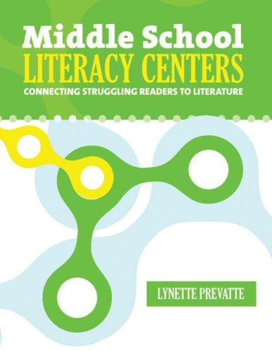 9780929895987: Middle School Literacy Centers: Connecting Struggling Readers to Literature (Maupin House)