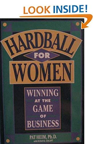 9780929923819: Hardball for Women: Winning at the Game of Business