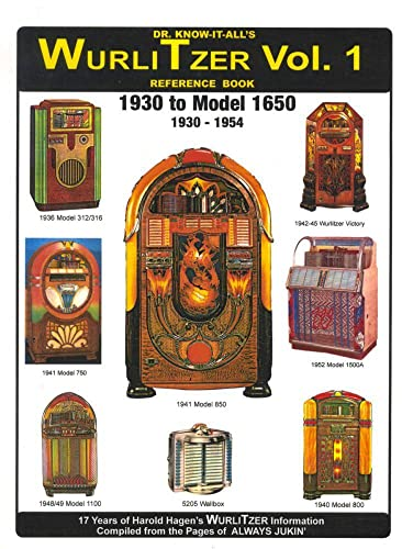 9780929953038: Dr Know It All's WurliTzer Jukeboxes Vol 1 Reference Book