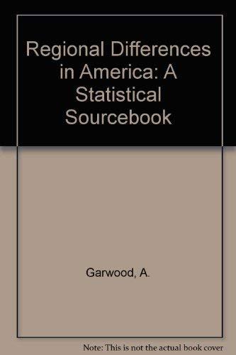 9780929960005: Regional Differences in America: A Statistical Sourcebook