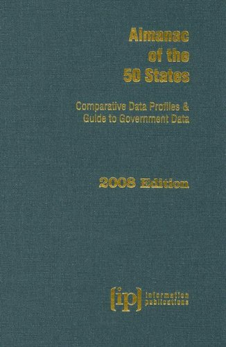 9780929960463: Almanac of the 50 States 2008: Comparative Data Profiles & Guide to Government Data