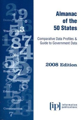 9780929960470: Almanac of the 50 States 2008: Comparative Data Profiles & Guide to Government Data (State & Municipal Profiles)