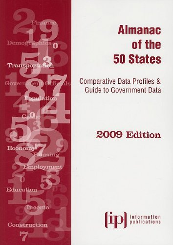 9780929960524: Almanac of the 50 States 2009: Comparative Data Profiles & Guide to Government Data