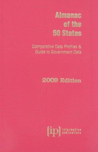 9780929960531: Almanac of the 50 States 2009: Comparative Data Profiles & Guide to Government Data (State & Municipal Profiles)