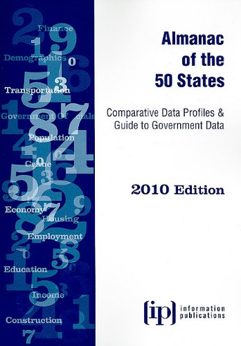 9780929960623: Almanac of the 50 States 2010: Comparative Data Profiles & Guide to Government Data