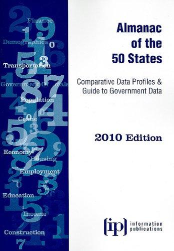 9780929960623: Almanac of the 50 States 2010: Comparative Data Profiles & Guide to Government Data (State & Municipal Profiles)