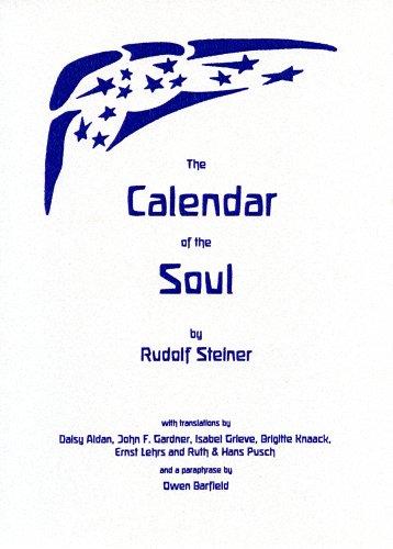9780929979717: The Calendar Of The Soul