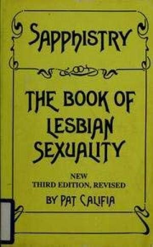 9780930044473: Sapphistry, the Book of Lesbian Sexuality