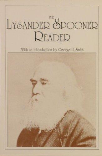 9780930073060: The Lysander Spooner Reader