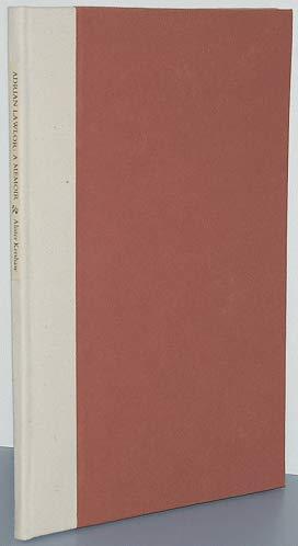 Adrian Lawlor: a memoir.: KERSHAW, Alister (