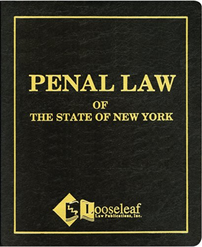 Penal Law ``N.Y.S. Certified'': Statute, New York