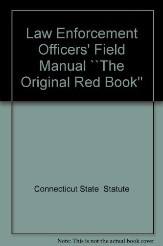 9780930137571: Law Enforcement Officers' Field Manual ``The Original Red Book''