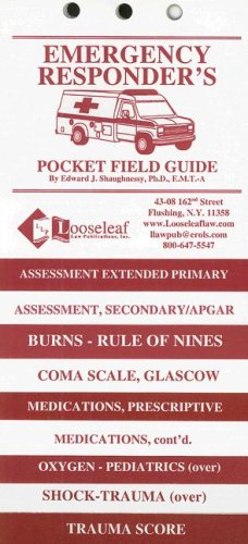 9780930137632: Emergency Responder's Pocket Field Guide