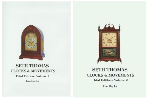9780930163945: Seth Thomas Clocks and Movements: A Guide to Identification and Prices, 3rd Edition (2 Volumes)