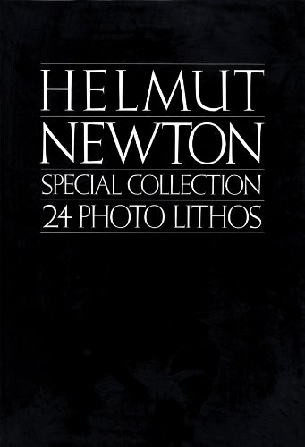 9780930186074: Helmut Newton, special collection, 24 photo lithos (An Xavier Moreau book)