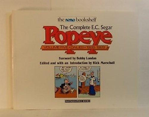 9780930193300: The Complete E.C. Segar Popeye, Vol. 5: Dailies, 1928-1929 (The Nemo Bookshelf)