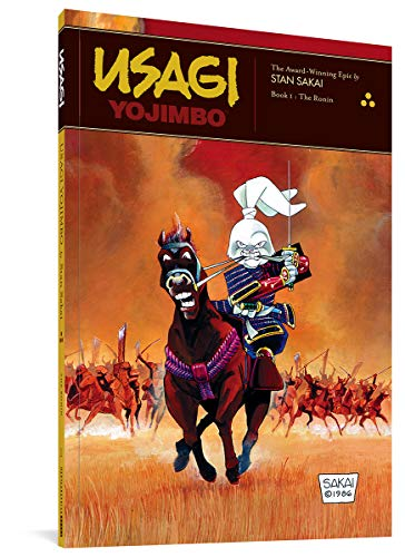 Usagi Yojimbo, Book One.