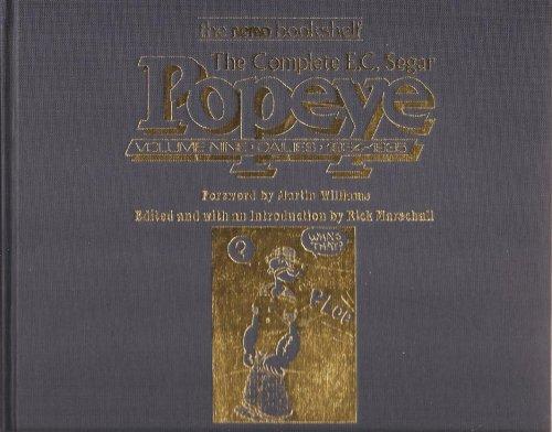 Complete E.C. Segar Popeye, Dailies, 1934-1935: Segar, E. C. & Rick Marschall, Editor