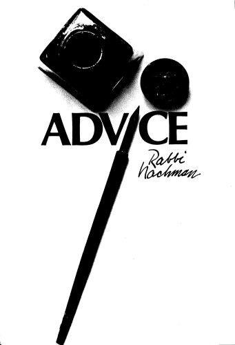 9780930213046: Advice (Rabbi Nachman of Breslov)