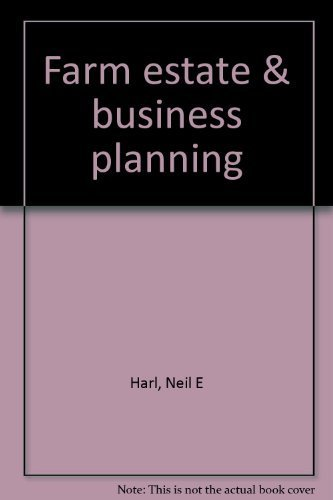 9780930264567: Farm estate & business planning