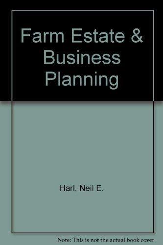 9780930264727: Farm Estate & Business Planning