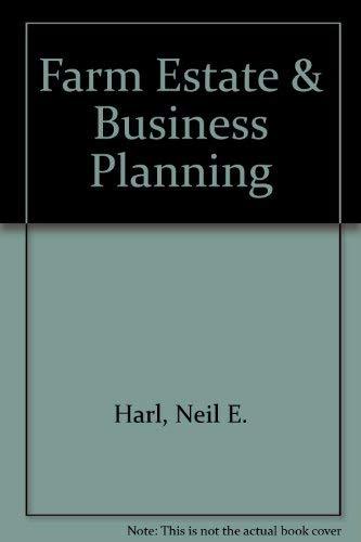 9780930264765: Farm Estate & Business Planning