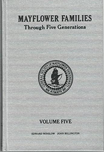 Mayflower Families Through Five Generations : Volume: McGuyre; Robert S.