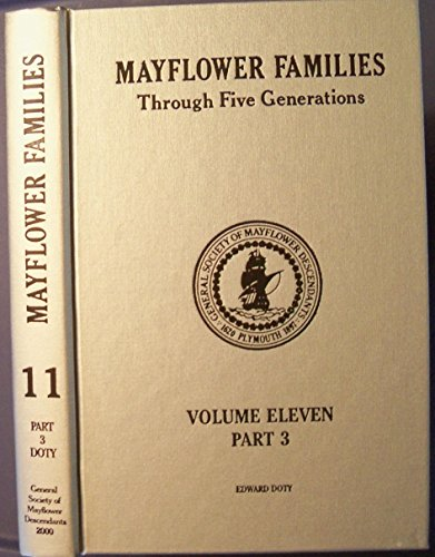 Mayflower Families Through Five Generations: Descendants of: Hill, Peter B.
