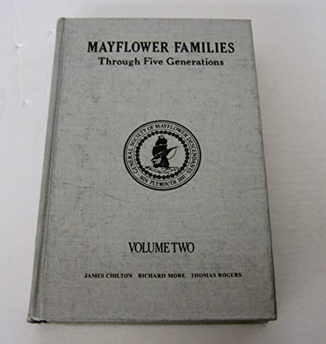 9780930270346: Mayflower Families Through Five Generations, Vol. 21: John Billington