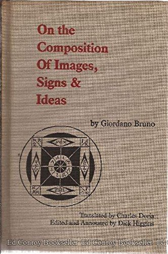 9780930279189: On the Composition of Images, Signs and Ideas