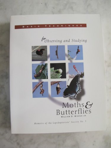 9780930282073: Basic Techniques for Observing and Studying Moths & Butterflies (Memoir No. 5)