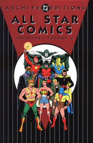 All Star Comics Archives, Volume 2
