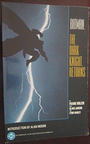 9780930289133: Batman: The Dark Knight Returns