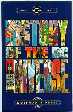 9780930289188: History of the DC Universe Book Two (Book Two)
