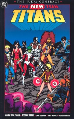 9780930289348: The Judas Contract (The New Teen Titans)