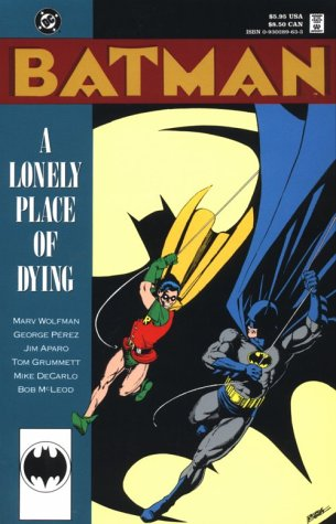 9780930289638: Batman: a Lonely Place of Dying