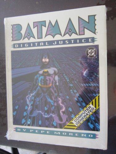 9780930289874: Batman: Digital justice / story and art by Pepe Moreno ; dialogue Doug Murray