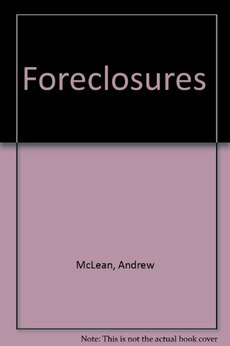 9780930306267: Foreclosures: How to profitably invest in distressed real estate