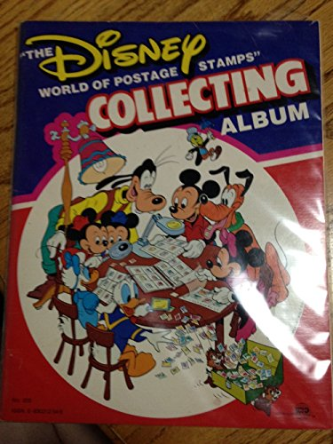 9780930312541: The Disney World of Postage Stamps Collection Album