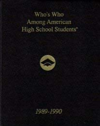 Who's Who Among American High School Students 1989-90: Educational Communications