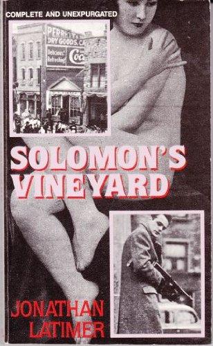 9780930330910: Solomon's Vineyard (Library of Crime Classics)