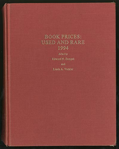 Book Prices: Used and Rare 1994