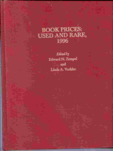 BOOK PRICES USED AND RARE 1996