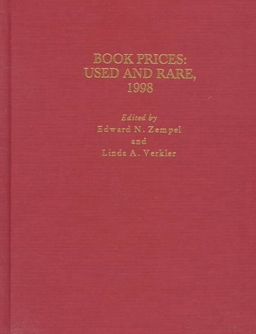 Book Prices: Used and Rare, 1998 (Annual)