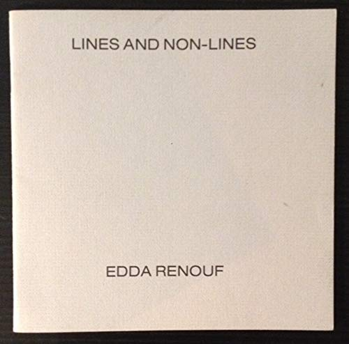 Lines and non-lines: Renouf, Edda