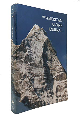 American Alpine Journal, 1987 Vol. 29, No. 61
