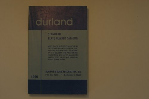 9780930412197: Durland Standard Plate Number Catalog