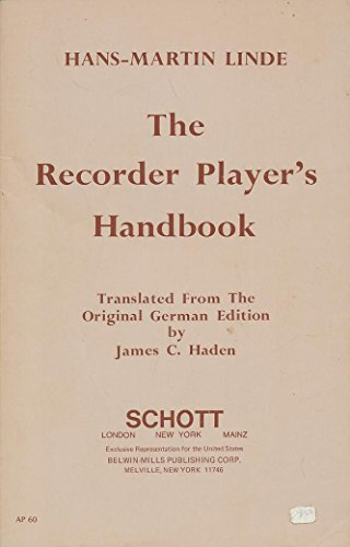 9780930448110: Recorder Player's Handbook