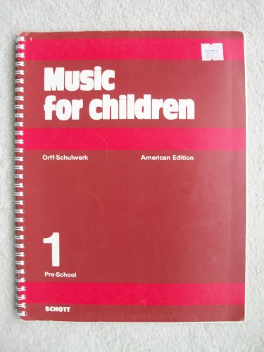 9780930448127: Music for Children: 001