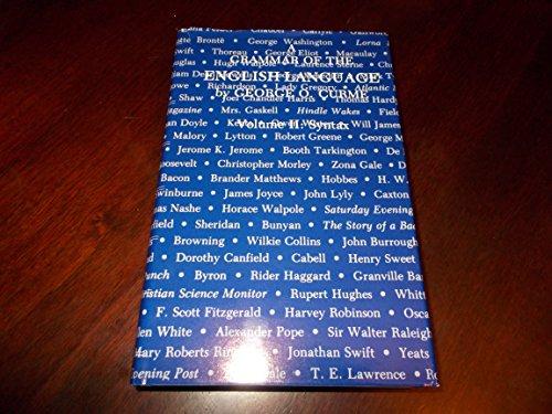 A Grammar of the English Langu